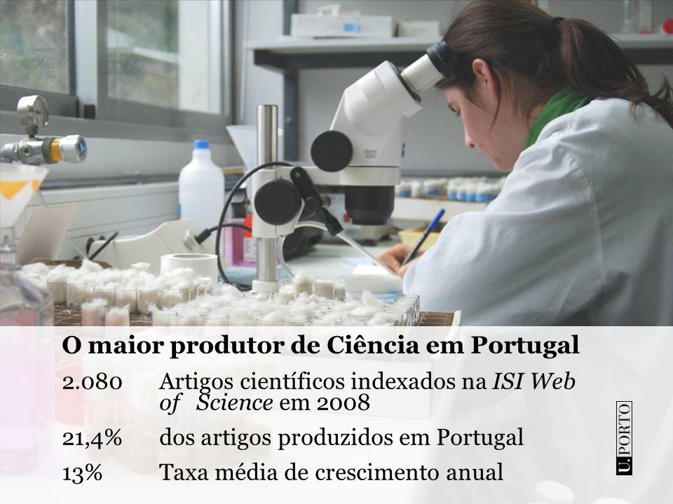O maior produtor de Ciência em Portugal