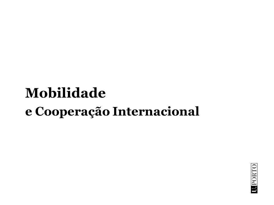 Mobilidade e Cooperação Internacional