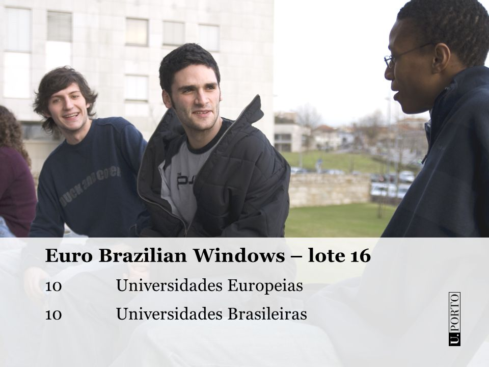 Euro Brazilian Windows – lote 16