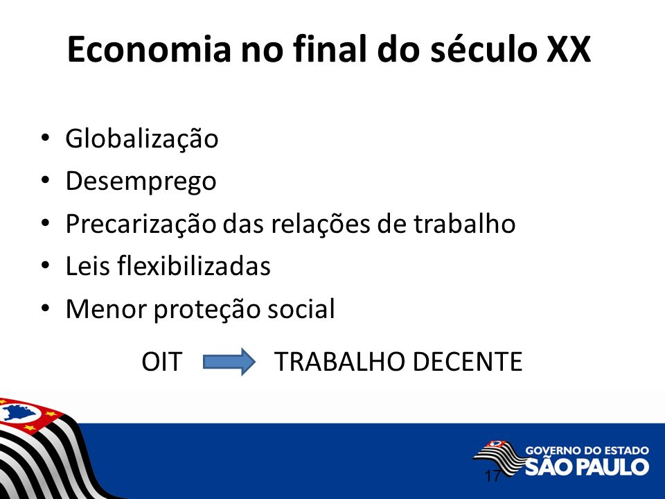 Economia no final do século XX