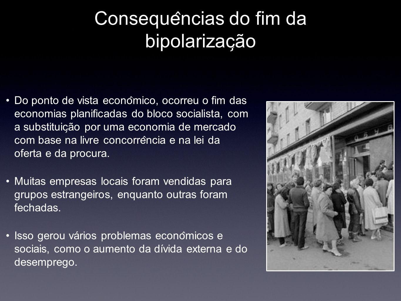 Consequências do fim da bipolarização