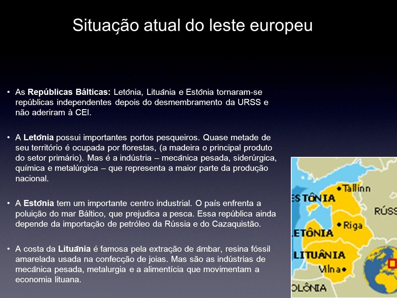 Situação atual do leste europeu