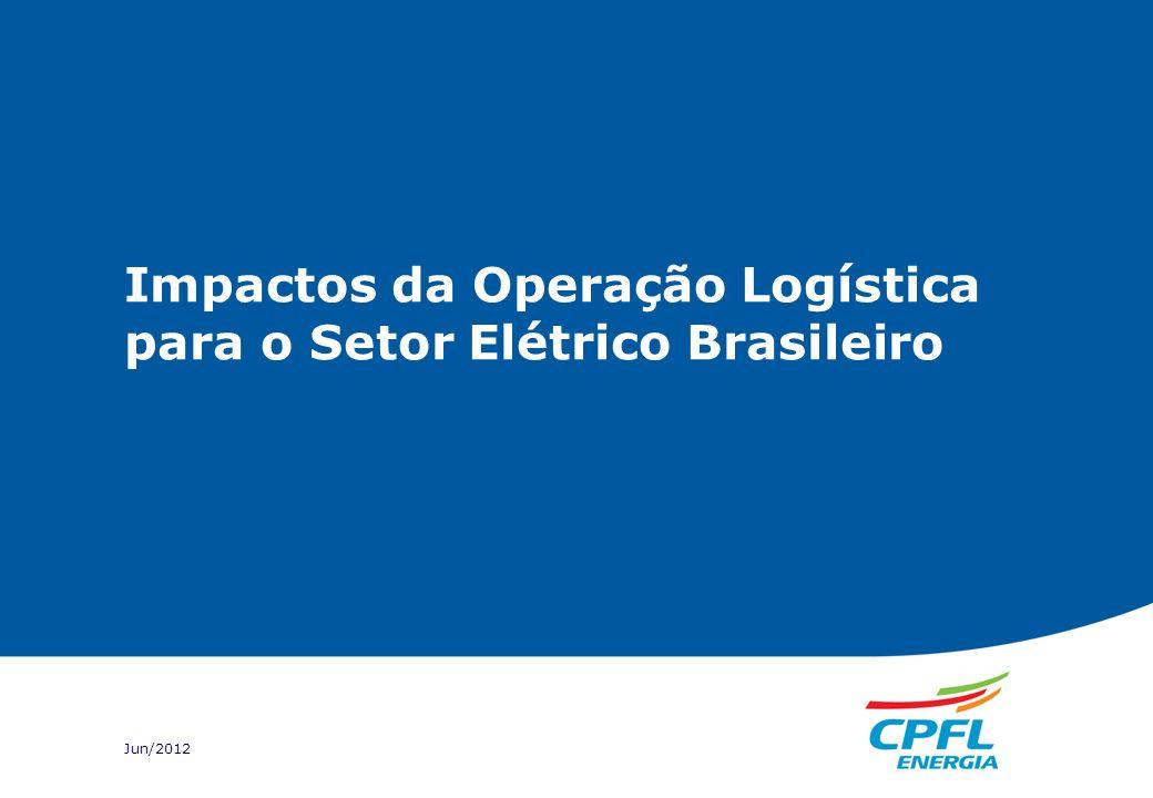 Impactos da Operação Logística para o Setor Elétrico Brasileiro