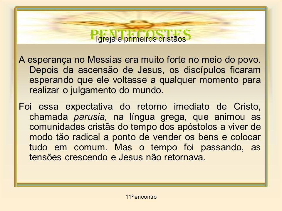 Igreja e primeiros cristãos
