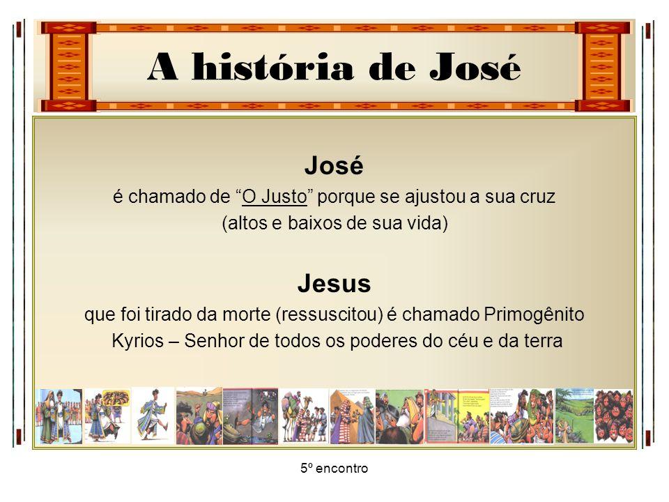 José Jesus é chamado de O Justo porque se ajustou a sua cruz