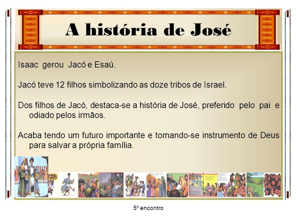 Jacó teve 12 filhos simbolizando as doze tribos de Israel.
