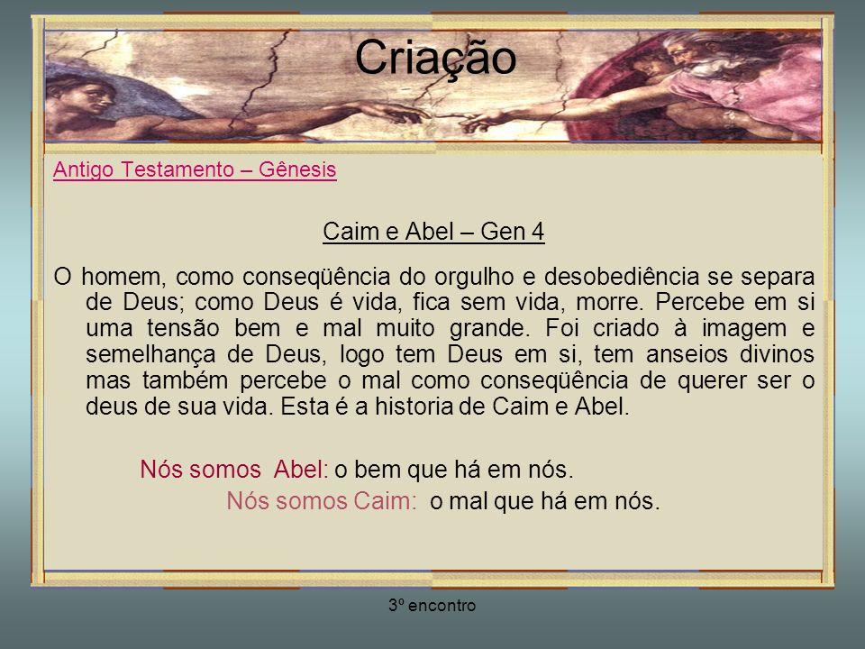 Criação Caim e Abel – Gen 4