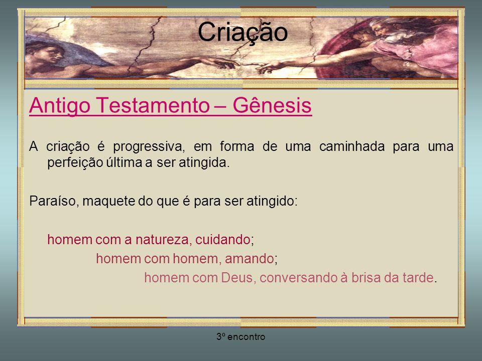 Criação Antigo Testamento – Gênesis