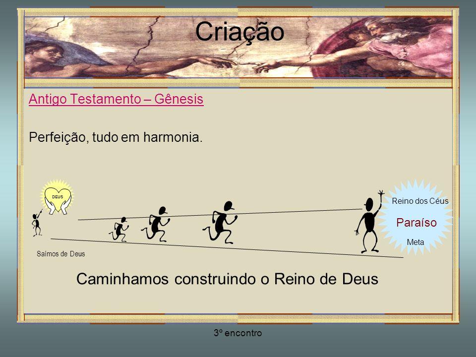 Caminhamos construindo o Reino de Deus