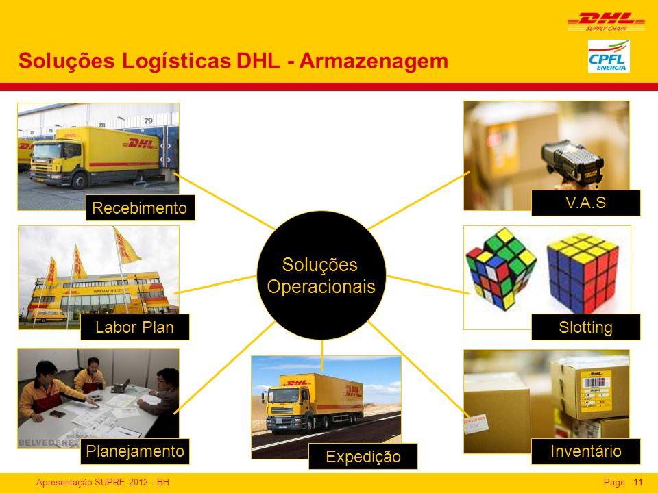 Soluções Logísticas DHL - Armazenagem