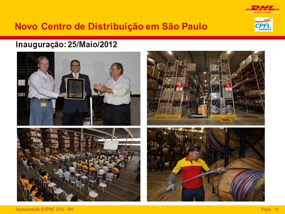 Novo Centro de Distribuição em São Paulo