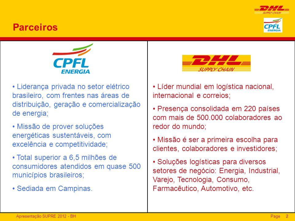Parceiros Liderança privada no setor elétrico brasileiro, com frentes nas áreas de distribuição, geração e comercialização de energia;