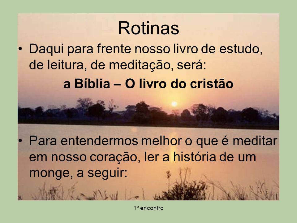 a Bíblia – O livro do cristão