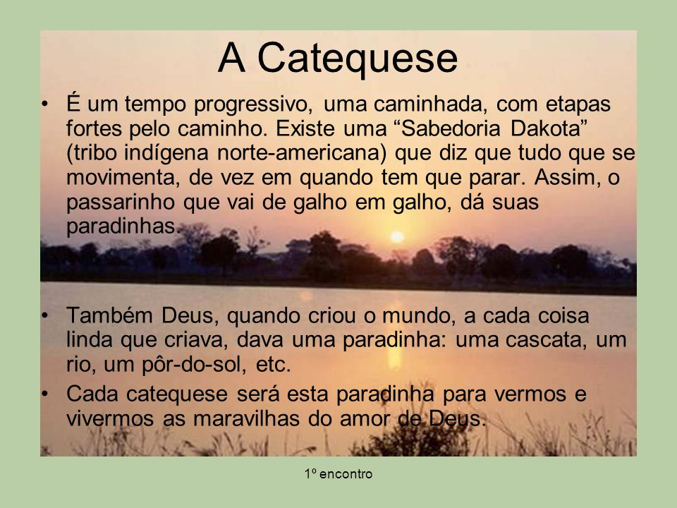 A Catequese