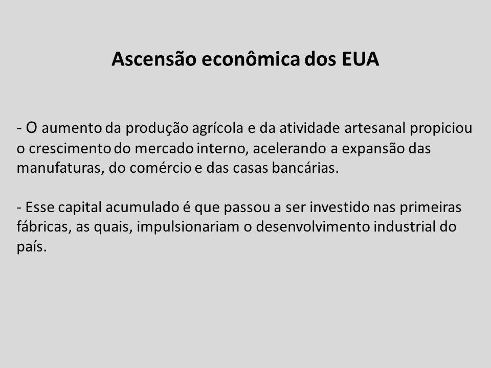 Ascensão econômica dos EUA