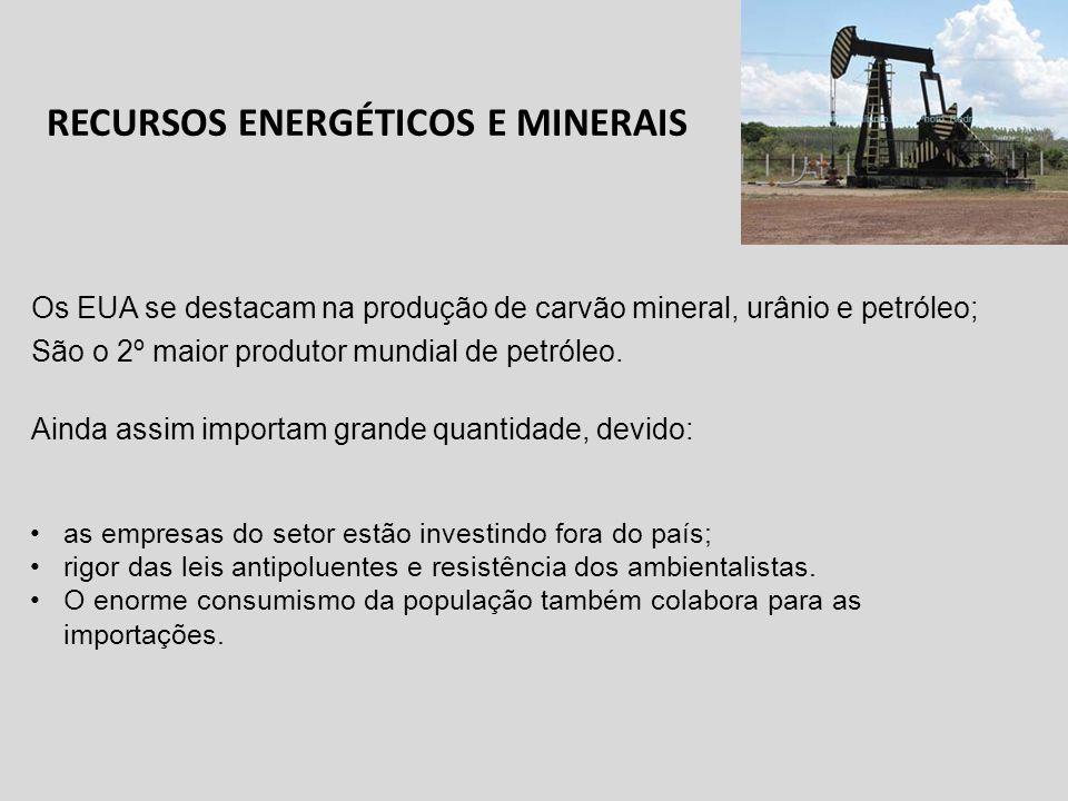 RECURSOS ENERGÉTICOS E MINERAIS
