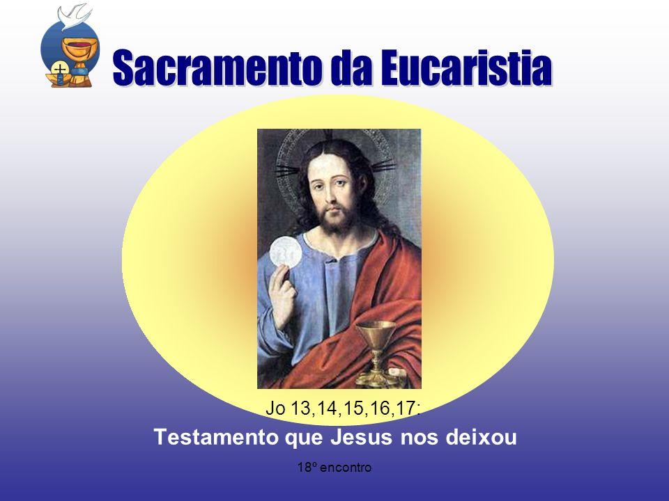 Testamento que Jesus nos deixou