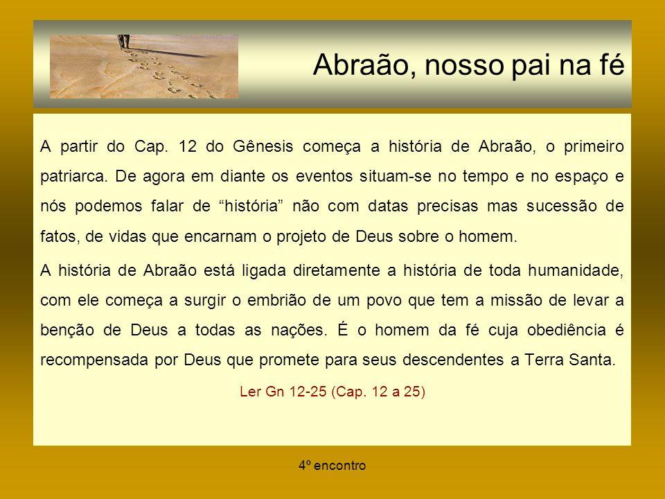 Abraão, nosso pai na fé