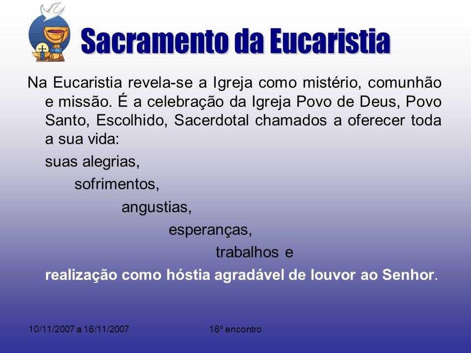 Sacramento da Eucaristia