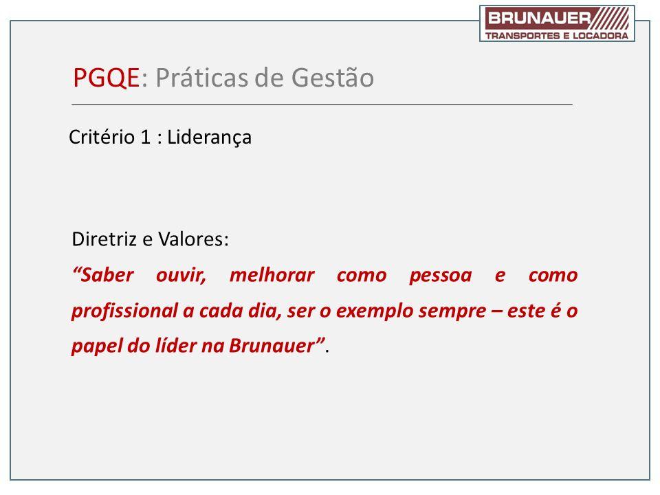 PGQE: Práticas de Gestão