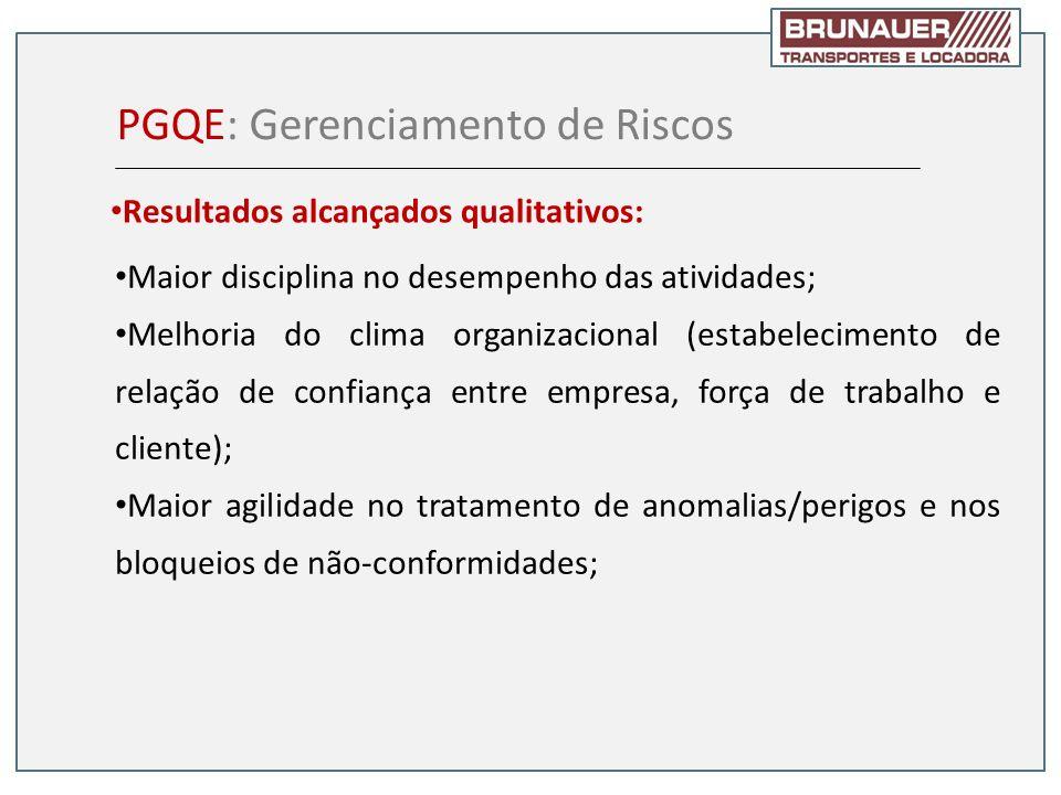 PGQE: Gerenciamento de Riscos