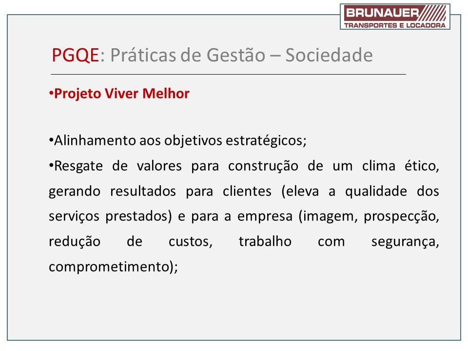 PGQE: Práticas de Gestão – Sociedade