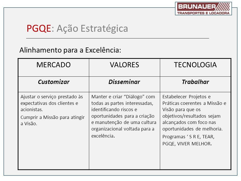 PGQE: Ação Estratégica