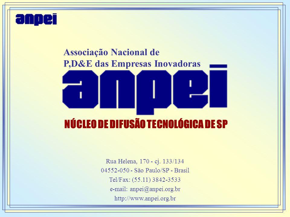 NÚCLEO DE DIFUSÃO TECNOLÓGICA DE SP
