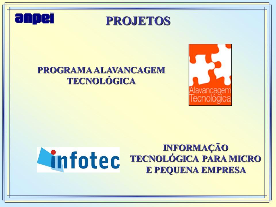 PROJETOS PROGRAMA ALAVANCAGEM TECNOLÓGICA