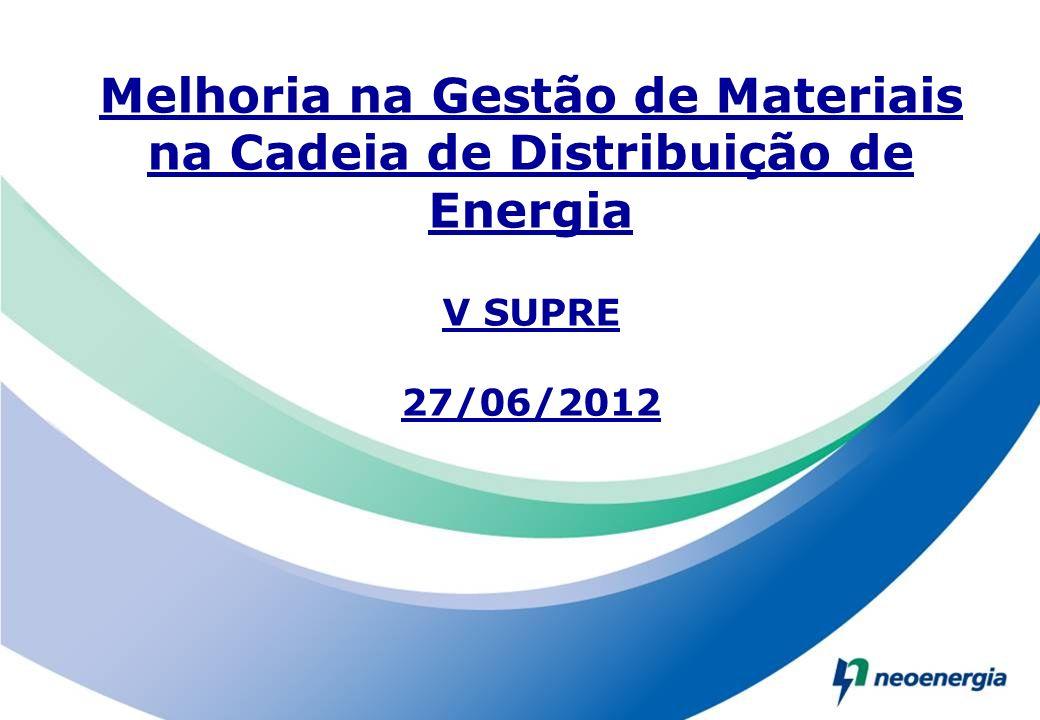Melhoria na Gestão de Materiais na Cadeia de Distribuição de Energia