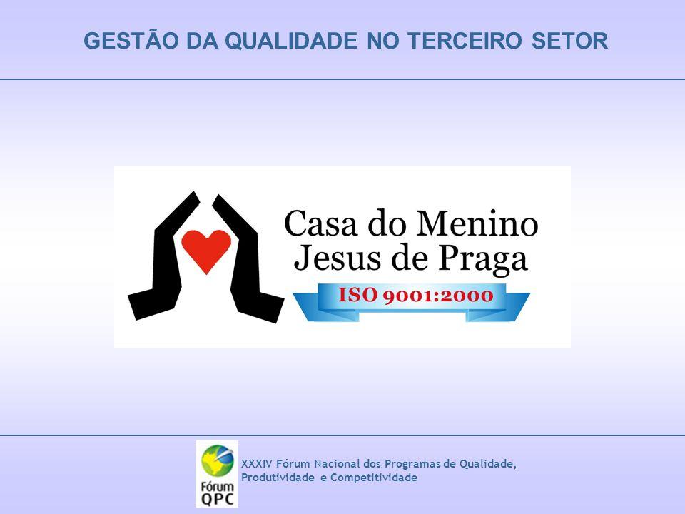 GESTÃO DA QUALIDADE NO TERCEIRO SETOR