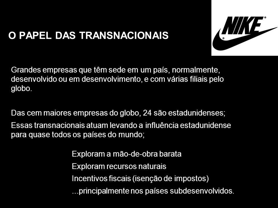 O PAPEL DAS TRANSNACIONAIS