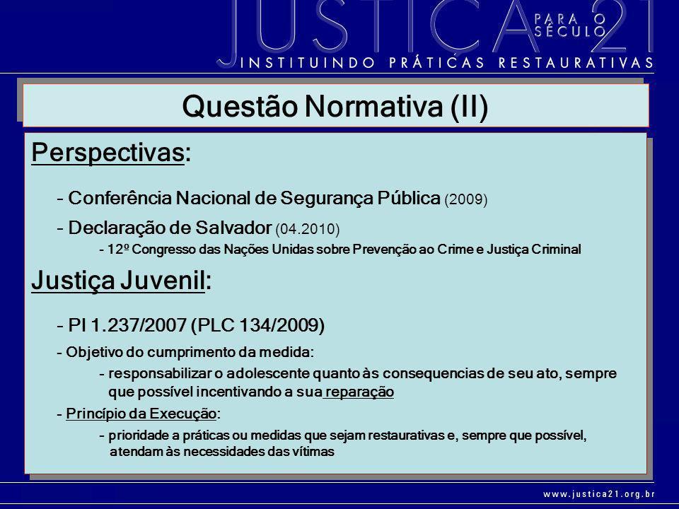 Questão Normativa (II)