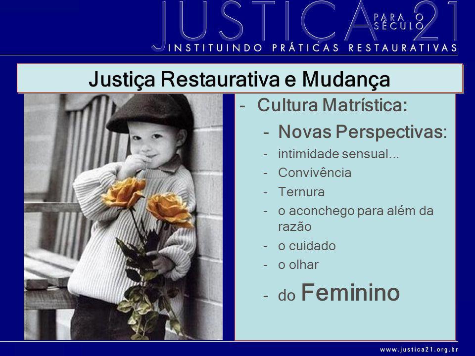 Justiça Restaurativa e Mudança