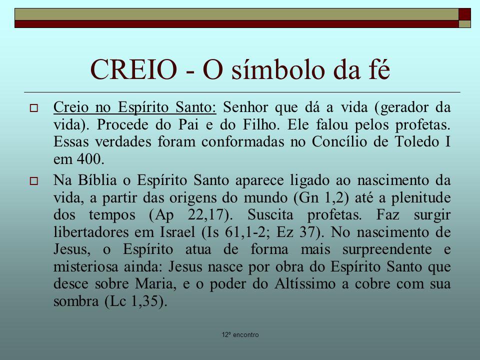 CREIO - O símbolo da fé