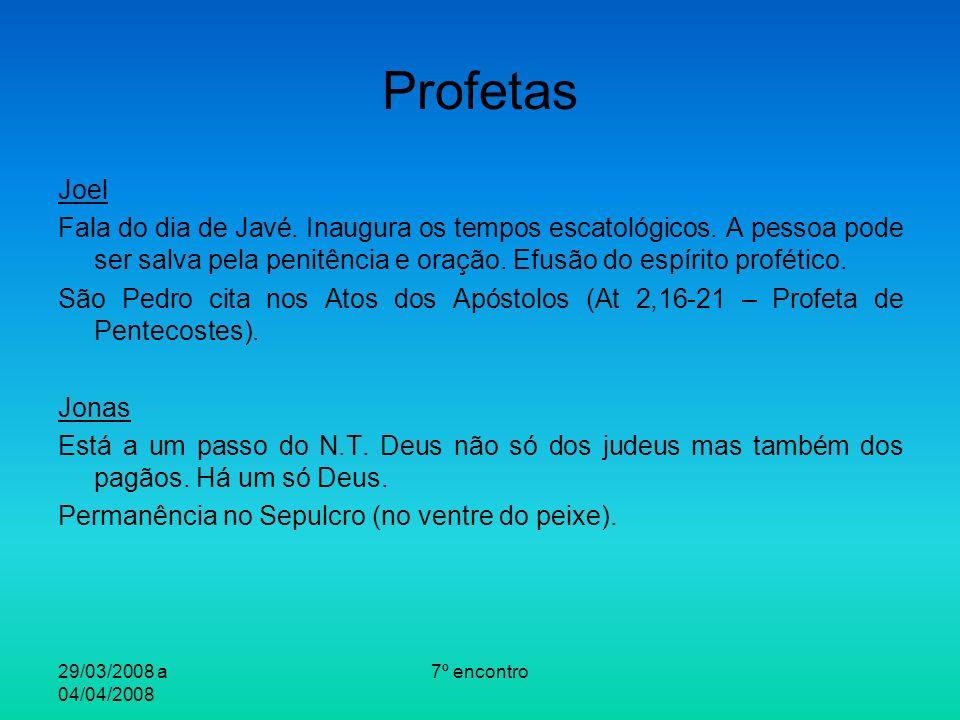 Profetas Joel.