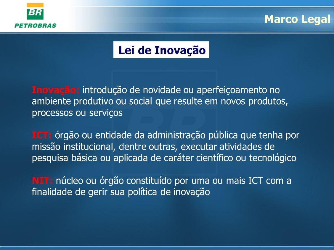 Marco Legal Lei de Inovação