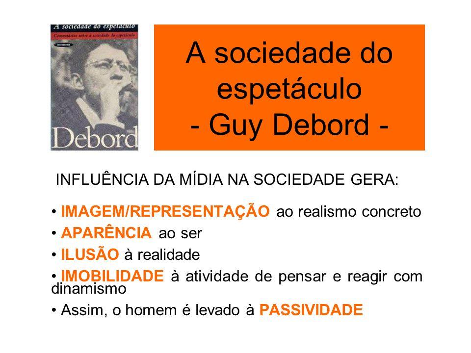 A sociedade do espetáculo - Guy Debord -