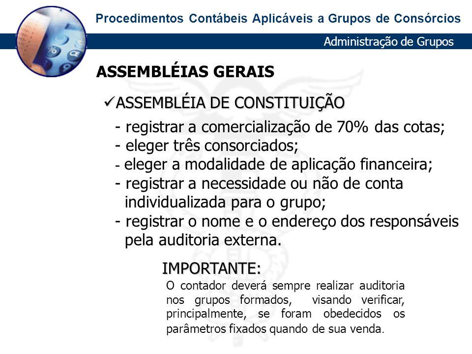 ASSEMBLÉIA DE CONSTITUIÇÃO