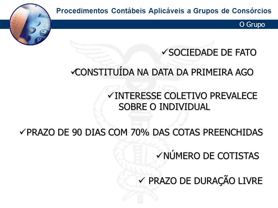 CONSTITUÍDA NA DATA DA PRIMEIRA AGO