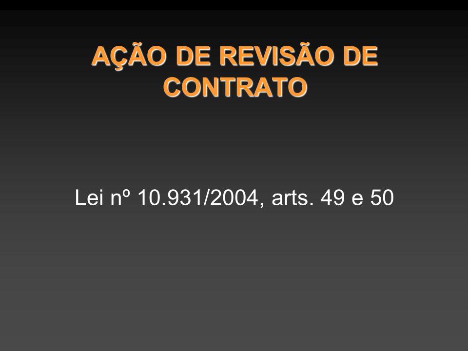 AÇÃO DE REVISÃO DE CONTRATO
