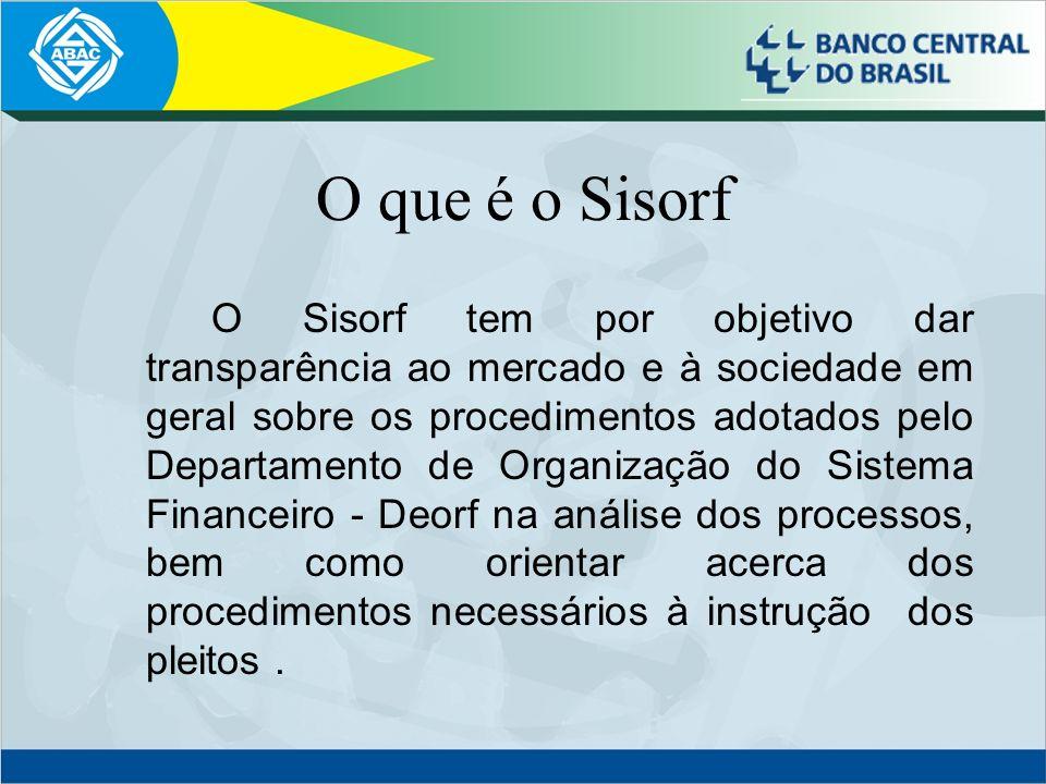 O que é o Sisorf