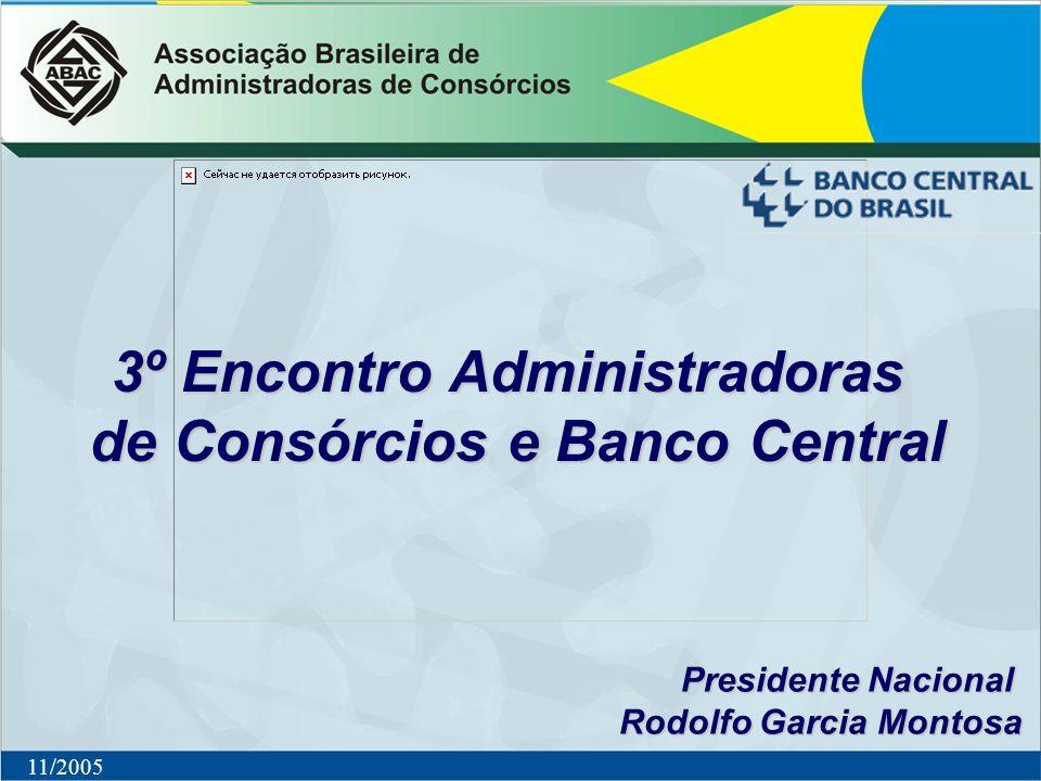 3º Encontro Administradoras de Consórcios e Banco Central