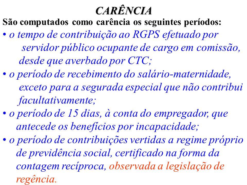 o tempo de contribuição ao RGPS efetuado por