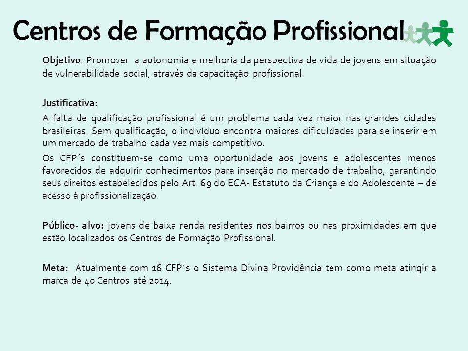 Centros de Formação Profissional