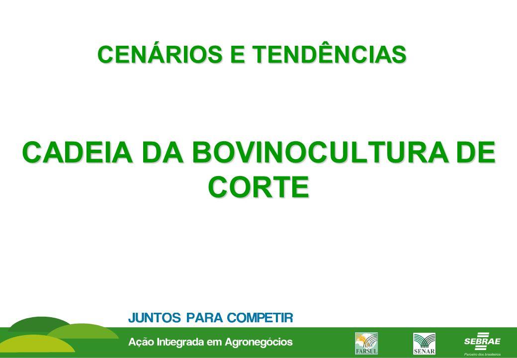 CADEIA DA BOVINOCULTURA DE CORTE