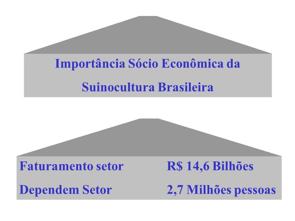 Importância Sócio Econômica da Suinocultura Brasileira
