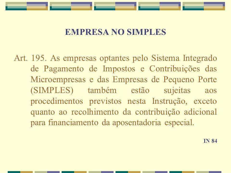 EMPRESA NO SIMPLES