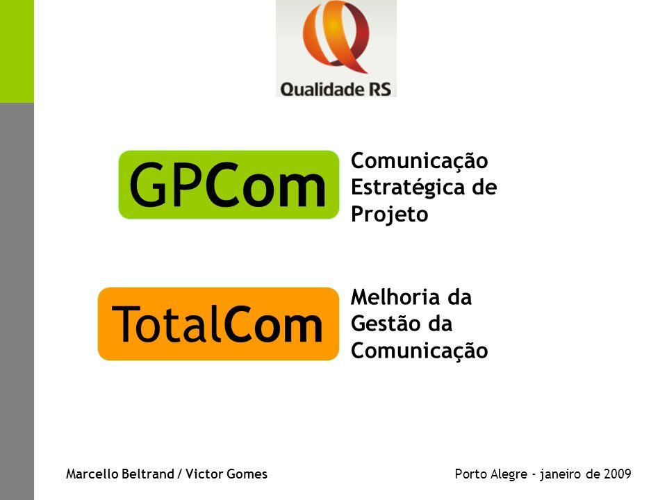 Marcello Beltrand / Victor Gomes Porto Alegre - janeiro de 2009