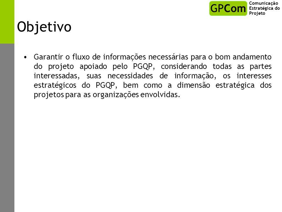 Comunicação Estratégica do Projeto